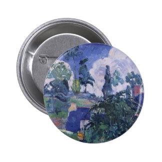 Paul Gauguin- Among the lillies Buttons