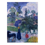 Paul Gauguin- Among the lillies Postcards