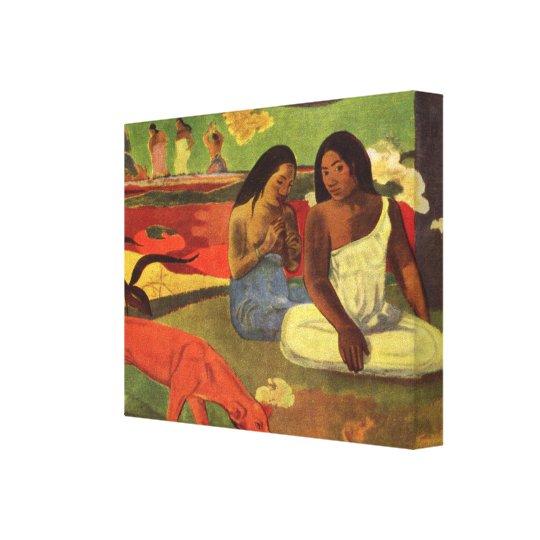 paul gauguin Art Canvas Print