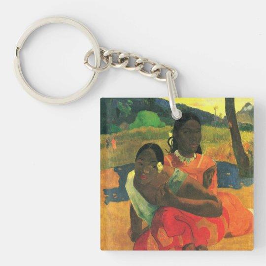 paul gauguin Art Keychain