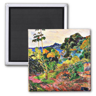 Paul Gauguin art: Martinique Landscape Magnet