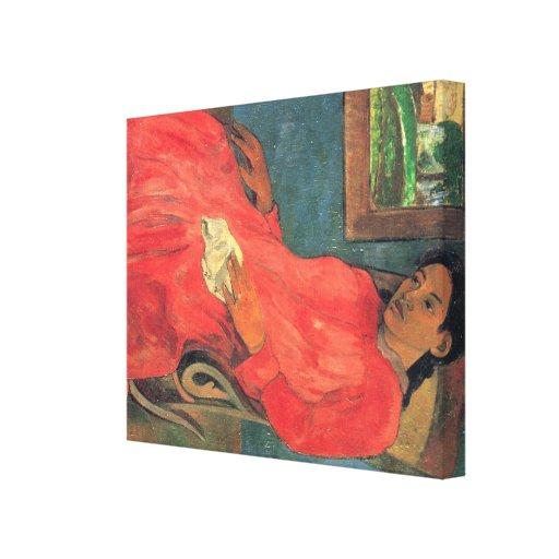 paul gauguin Art Stretched Canvas Print