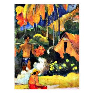 Paul Gauguin art: The Moment of Truth II Postcard