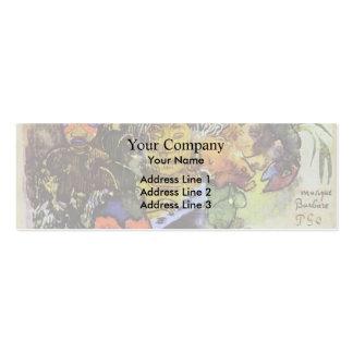 Paul Gauguin- Barbarian music Business Card Templates
