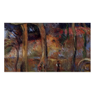 Paul Gauguin- Bare Trees Business Cards