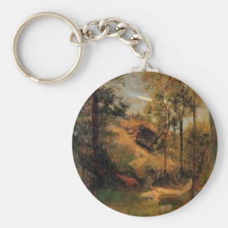 Paul Gauguin- Bathing in Front of Pont-Aven Keychain
