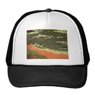 Paul Gauguin- Beach at Le Pouldu Trucker Hat