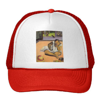 Paul Gauguin- Brooding Woman Trucker Hat