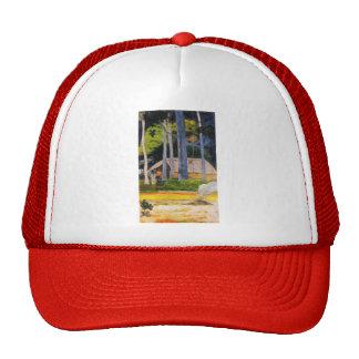 Paul Gauguin- Cabin under the trees Trucker Hat