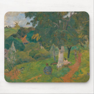 Paul Gauguin - Coming and Going, Martinique Mouse Pad