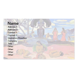 Paul Gauguin - Day of the Gods Business Card