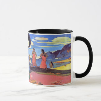 Paul Gauguin - Day of the Gods - Fine Art Painting Mug