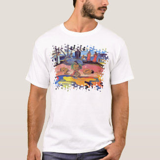Paul Gauguin - Day of the Gods - Fine Art Painting T-Shirt