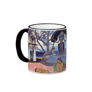 Paul Gauguin - día de dioses Taza De Café