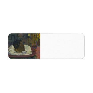 Paul Gauguin- el extremo real Etiquetas De Remite