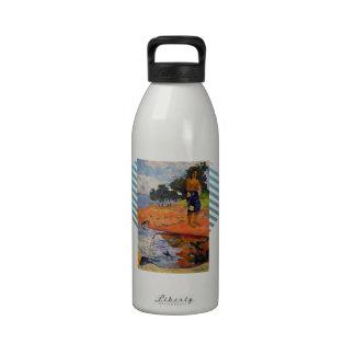 Paul Gauguin- ella va abajo al agua dulce Botellas De Agua Reutilizables