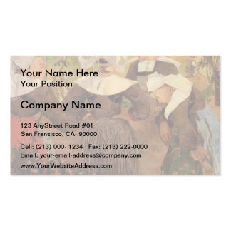Paul Gauguin- Four Breton Women Double-Sided Standard Business Cards (Pack Of 100)
