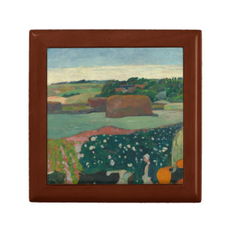 Paul Gauguin - Haystacks in Brittany Jewelry Box