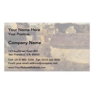 Paul Gauguin- Houses at Vaugirard Business Card Template