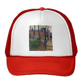 Paul Gauguin- Houses in le Pouldu Trucker Hat