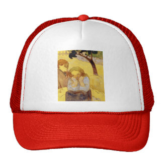 Paul Gauguin- Human misery Trucker Hat