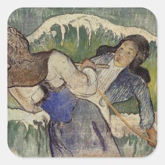 Paul Gauguin- Kelp gatherers Stickers