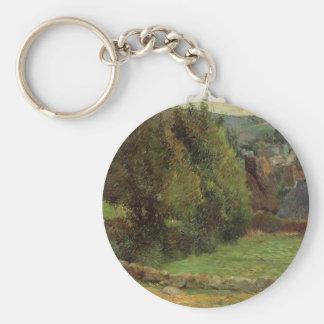Paul Gauguin- Landscape at Pont-Aven Keychain
