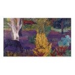 Paul Gauguin- Marquesan landscape with horses Business Card Template