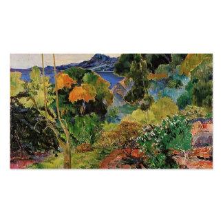 Paul Gauguin- Martinique Landscape Business Cards