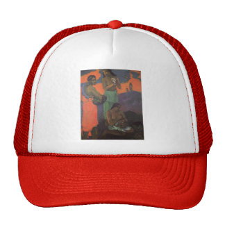 Paul Gauguin- Maternity (Three Women on Seashore) Trucker Hat