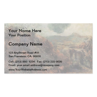 Paul Gauguin- Mountain landscape Business Cards