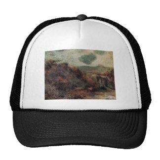 Paul Gauguin- Mountain landscape Hats