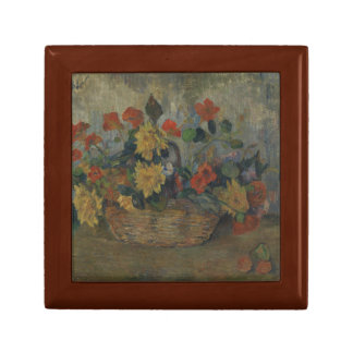 Paul Gauguin - Nasturtiums and Dahlias Jewelry Box