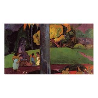 Paul Gauguin- Olden times Business Card Template