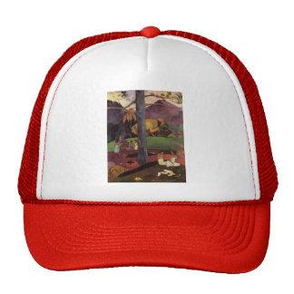 Paul Gauguin- Olden times Trucker Hat