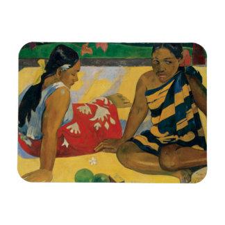 Paul Gauguin - Parau Api. Qué noticias Imán