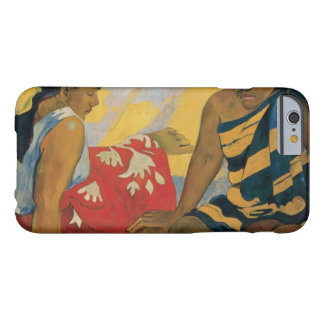 Paul Gauguin - Parau Api. What News Barely There iPhone 6 Case