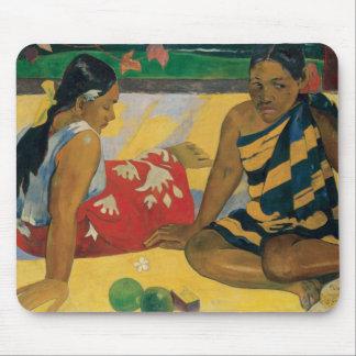 Paul Gauguin - Parau Api. What News Mouse Pad