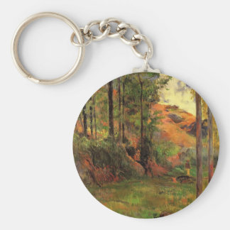 Paul Gauguin- Path down to the Aven Key Chain
