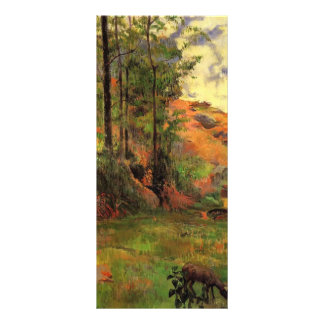 Paul Gauguin- Path down to the Aven Rack Card