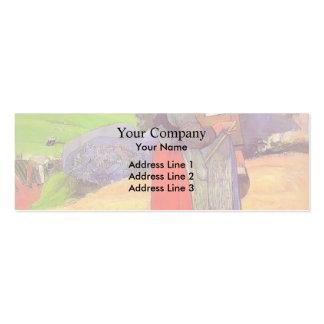 Paul Gauguin- Paysannes bretones Business Card