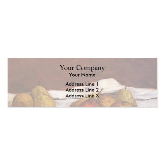 Paul Gauguin- Pears and grapes Business Card Templates