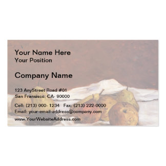 Paul Gauguin- Pears and grapes Business Card
