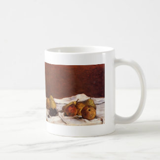 Paul Gauguin- Pears and grapes Classic White Coffee Mug