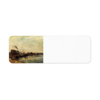 Paul Gauguin- Port de Grenelle Return Address Label