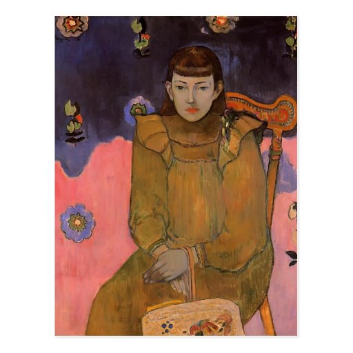 Paul Gauguin- Portrait of a Young Woman, Vaite Post Card