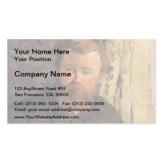 Paul Gauguin- Portrait of Achille Granchi Taylor Business Card Template