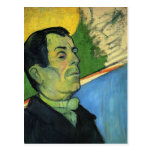 Paul Gauguin- Portrait of man wearing a lavalliere Post Cards