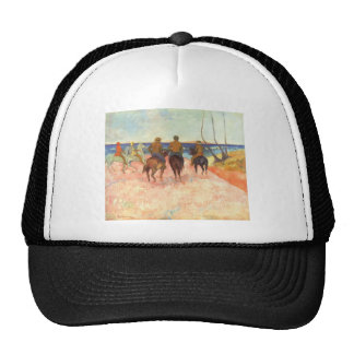 Paul Gauguin- Riders on the beach Trucker Hat