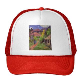 Paul Gauguin- Road in Tahiti Trucker Hat